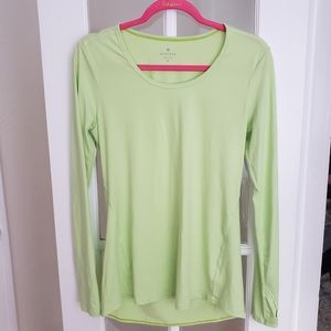 Athleta Long Sleeved Workout/Running Tee - M